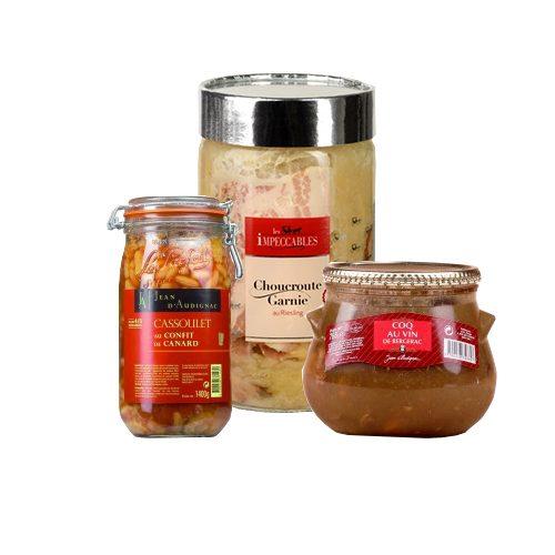 Pre-prepared Meals in Jar