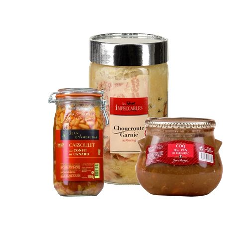 Pre-prepared Meals in Jar