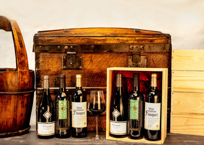 Our French Connection Wine Hamper is a delicious selection of French appellation wines presented in a classic wooden wine box.