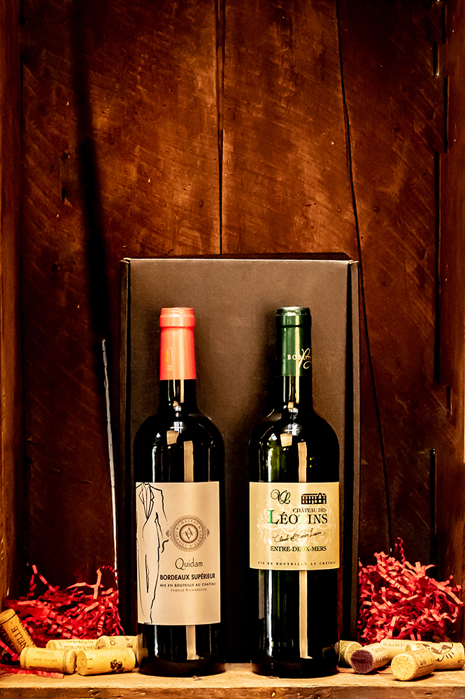 Our Bordeaux Bliss Winebox contains two delightful French Bordeaux wines presented in an attractive gift box. A classic gift for any wine lover.