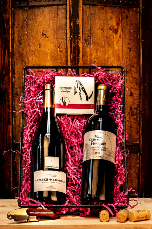 The Connoisseur Duo Wine Gift Set contains two superior French Wines and makes the perfect gift for someone who really knows their wine.