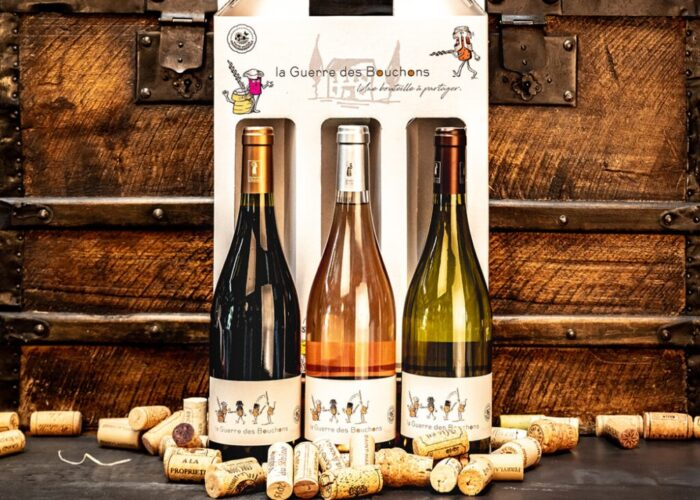 La Guerre des Bouchons in french means 'The War of The Corks', the war is between these 3 wonderful French Wines. Let battle commence!